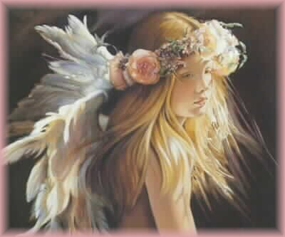 joven mujer que suena con el amor